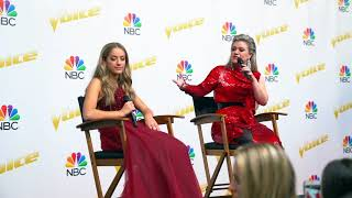The Voice Finale Press Conference Highlights With Brynn Cartelli & Kelly Clarkson