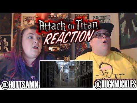 Attack On Titan Season 1 Episode 6 (1x6) REACTION!!