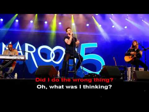 Wake Up Call  - Maroon 5 - Lyric karaoke