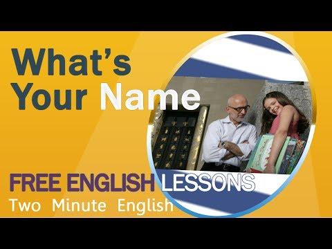 Upoznavanje na engleskom