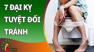 7 đại kỵ tuyệt đối tránh khi đi nhà vệ sinh (xem ngay) - Sống Khỏe Sống Tốt
