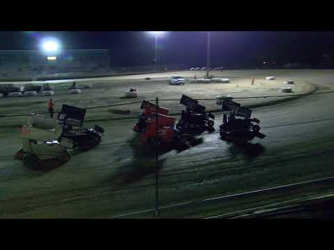 10-7-2017 600cc Micro Sprints Main Event
