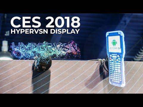 CES 2018 – Kinomo Hypervsn at the Consumer Electronics Show