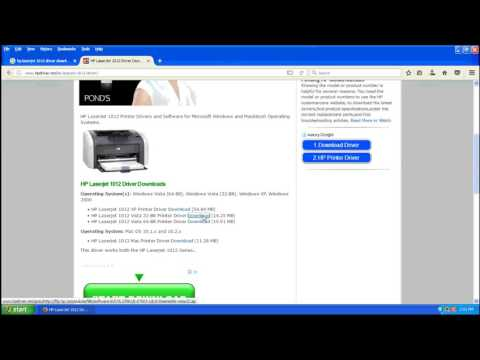 HP LeserJet 1012 Driver, Downloads