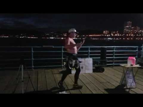 Juju on that Beat Dancer - Santa Monica Pier (Cali)