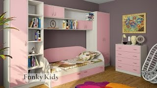 Мебель модульная Фанки Кидз 17. Кровать Фанки Кидз 17. Интернет-магазин