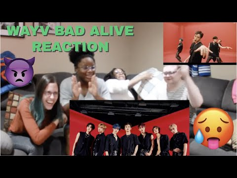 WayV 威神V 'Bad Alive (English Ver.)' MV. (MESSY group of Weshenies Reaction)