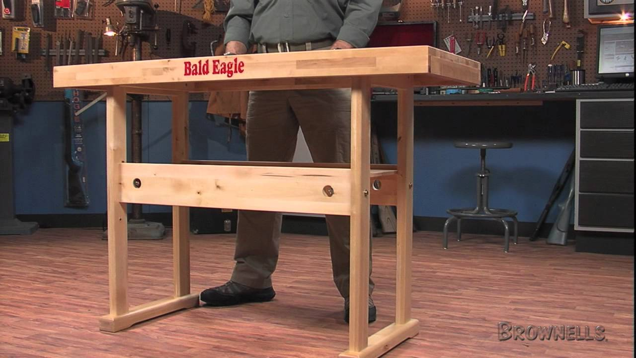 Brownells Bald Eagle Precision Products Work Bench Youtube