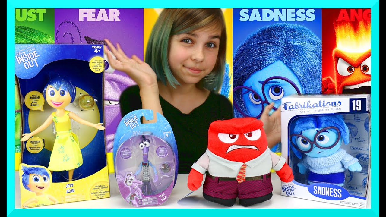 Disney Pixar Inside Out Mix Review – Joy, Fear, Anger, Sadness Plush and Toys