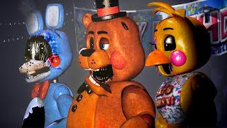 FNaF 2 WITHERED TOY ANIMATRONICS | The Return To Abomination's Fan Game