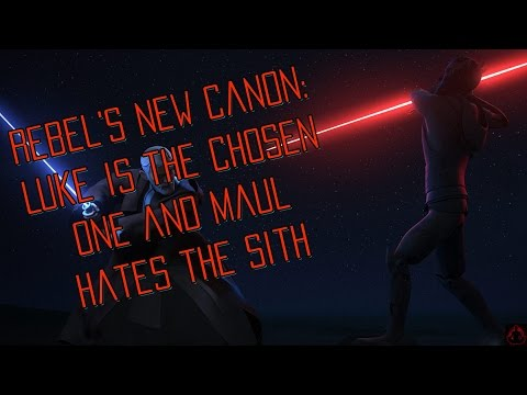 New Star Wars Canon: Luke is the Chosen One and Maul Really Hates the Sith (SPOILERS)