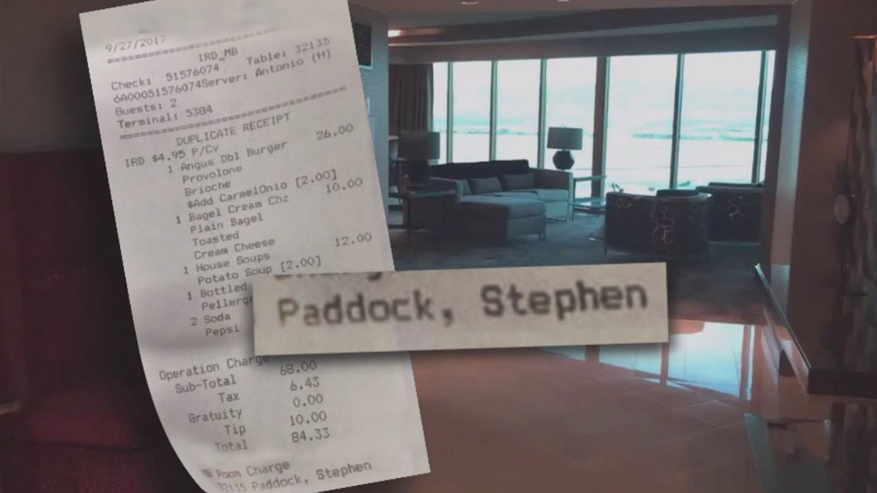 What Las Vegas Gunman Ordered From Hotel Room Service During Stay