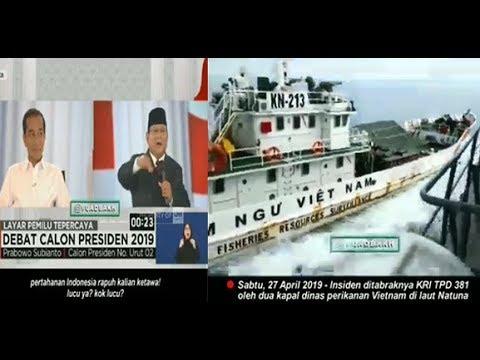Apa Yang Dikatakan Pa Prabowo Benar!! Insiden Ditabraknya Kapal KRI TPD 381