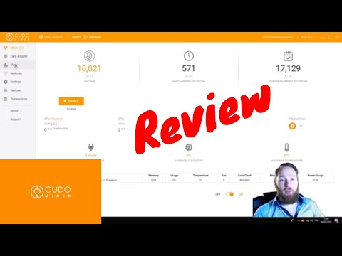 Cudo Miner Review: One Click Cryptocurrency Mining Software