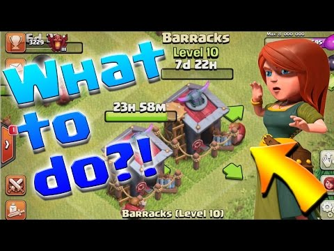 Clash of Clans: HOW TO get DARK ELIXIR while Upgrading Barracks!