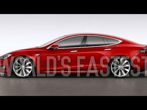 2016 Tesla Model S P100D Self Driving Car World