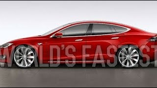 World's Quickest Car Tesla Model S P100D Self Driving Car