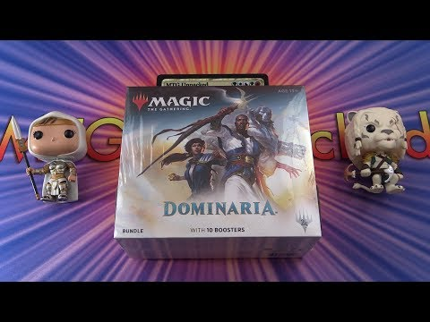 Dominaria Bundle unboxing - MYTHICS!