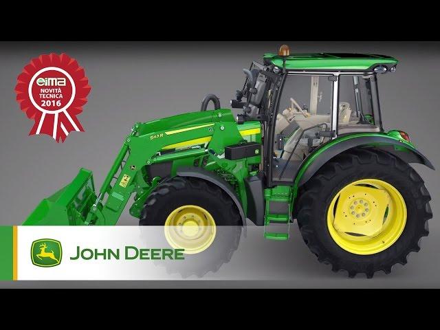 """Premio """"Novità Tecnica"""" EIMA: Trasmissione Command8 sui Trattori della Serie 5R John Deere"""