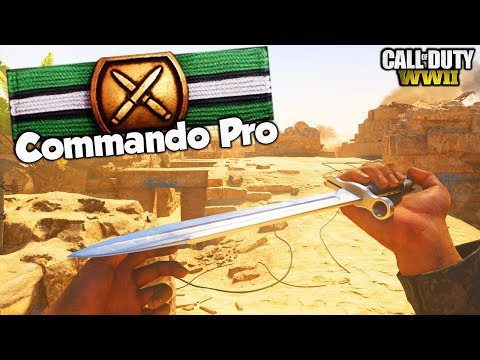 "New ""COMMANDO PRO"" BASIC TRAINING GAMEPLAY in COD WW2!! COD WW2 THROWBACK MW2 PERKS GAMEMODE!!"