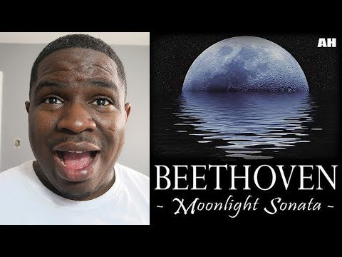 FIRST TIME HEARING - Beethoven - Moonlight Sonata - REACTION