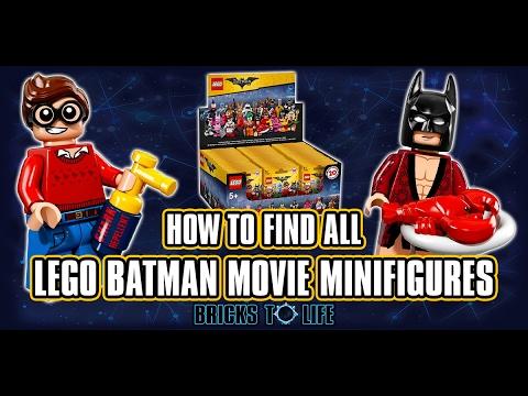 LEGO Batman Movie Minifigure Bag Codes - Find Any Minifigure With Secret Code