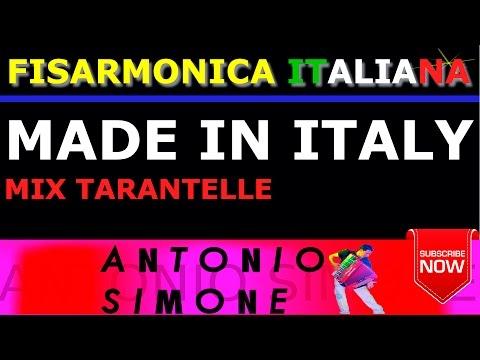 MADE IN ITALY - MIX TARANTELLE - FISARMONICA ITALIANA BASI MUSICALI E PARTITURE - BALLO LISCIO