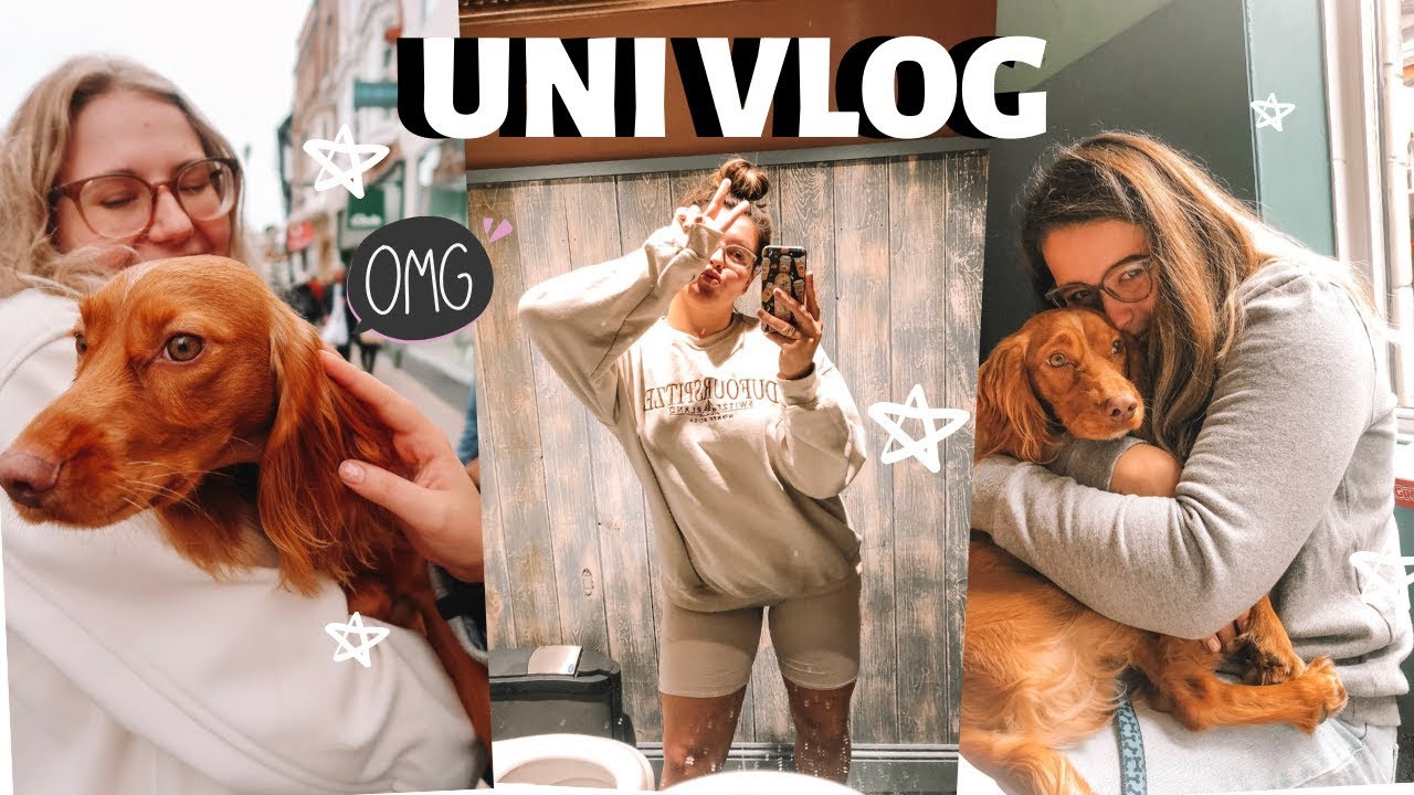 UNI VLOG | Family Visits + Doggo Cuddles!!
