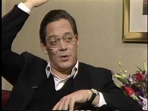 An  with actor Raul Julia, about his life and the film