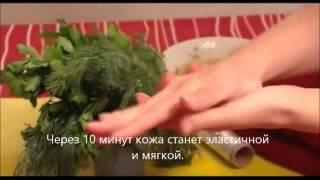 Народные рецепты ухода за руками.