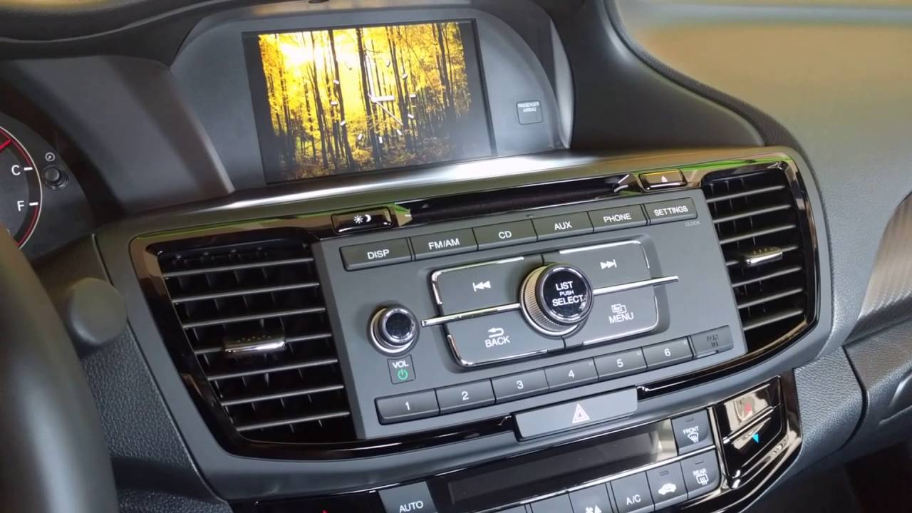 Awesome Enable Rear View Camera In Drive On 2016 Honda Accord Sport   YouTube