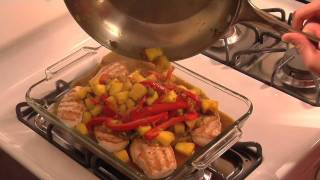S&w Bean Recipes -- Caribbean Chicken With Pineapple-black Bean Sauce