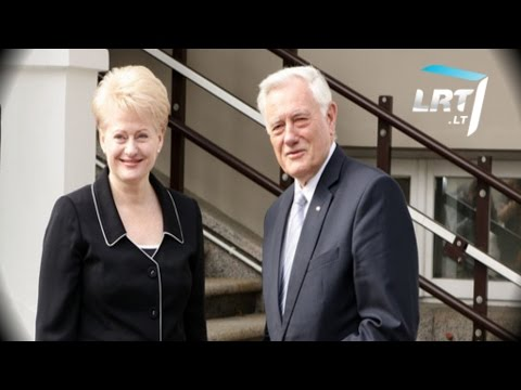 Prezidentės Dalios Grybauskaitės ir Valdo Adamkaus interviu Kovo 11-osios 25-mečiui