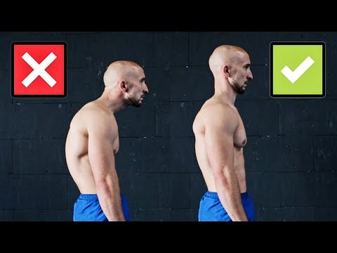 "Men Fitness Video – ""Improve Your Posture""  [3 Exercises Only]"
