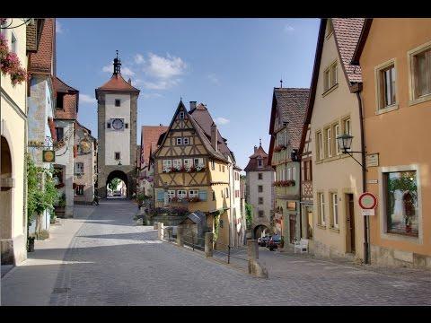 One day in Rothenburg ob der Tauber