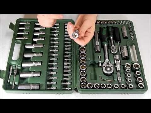 Обзор профессионального набора YATO 82 предмета YT-1269 - YouTube