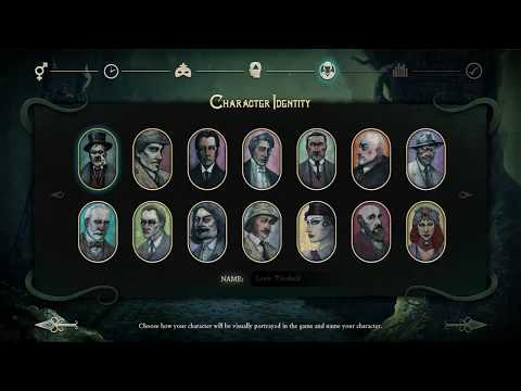 Stygian: Reign of the Old Ones - Character Creation (Beta Demo) |