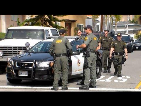 Orange County Sheriffs Search For Burglary Suspect In San Clemente