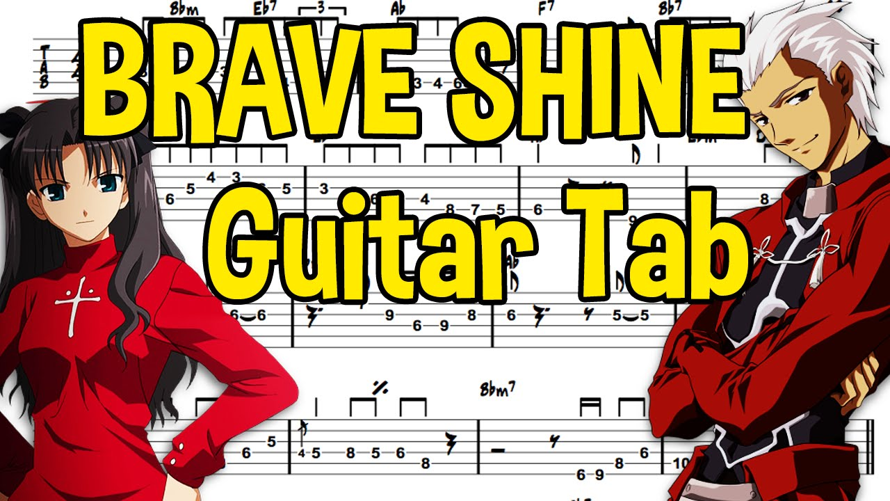 Learn How To Play Brave Shine Fingerstyle Acoustic Guitar Lesson