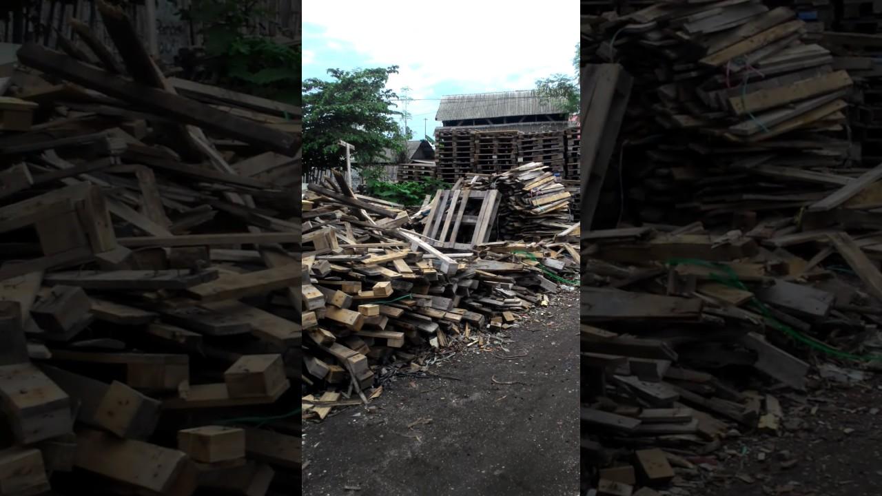 Palet Bekas Bahan Kayu Pinus Jati Belanda Youtube