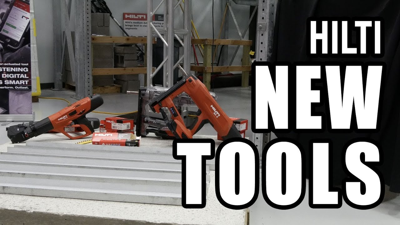 Top 10 New Hilti Tools for 2017 and Beyond