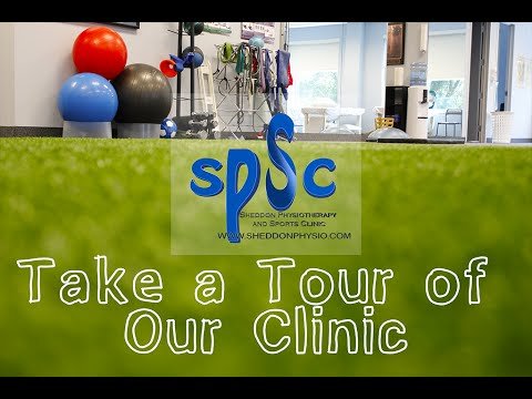 Take a Tour of Our Clinic! - Sheddon Physiotherapy and Sports Clinic Oakville