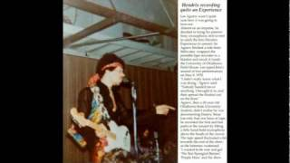 Hendrix - Red House May 8, 1970 Norman Oklahoma