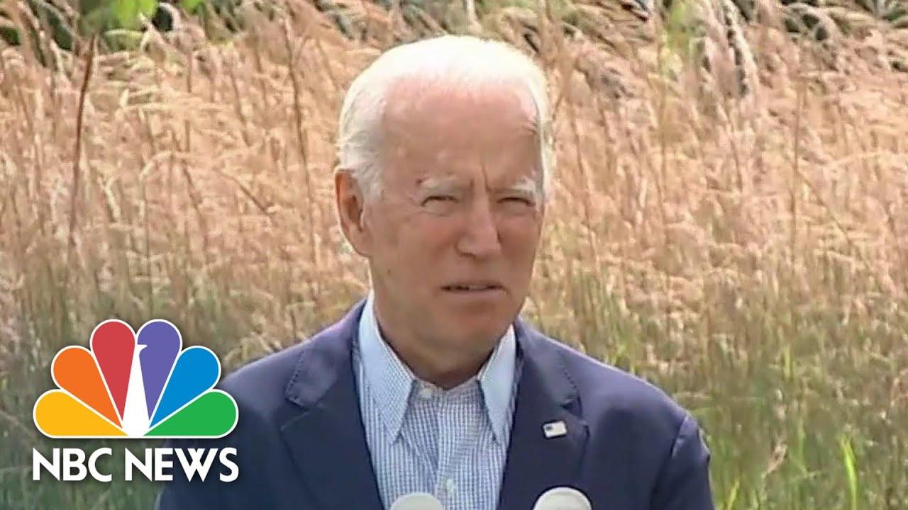 Biden: Climate Change 'Not A Partisan Phenomenon, Its Science' | NBC News NOW