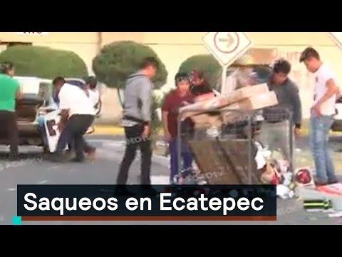 Saqueos en Ecatepec - Saqueos