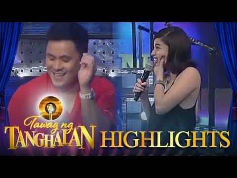 Tawag ng Tanghalan: Anne hurts her jaws laughing