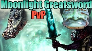 Dark Souls 3: Moonlight Greatsword PvP #2 - INT Build - Ludwig's Ugly Brother