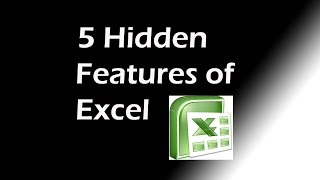 5 Hidden Features of Excel That You May Never Had Used Before