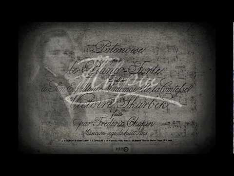 """F. Chopin's first composition """"POLONAISE IN G MINOR"""" Daniel Madero, piano"""