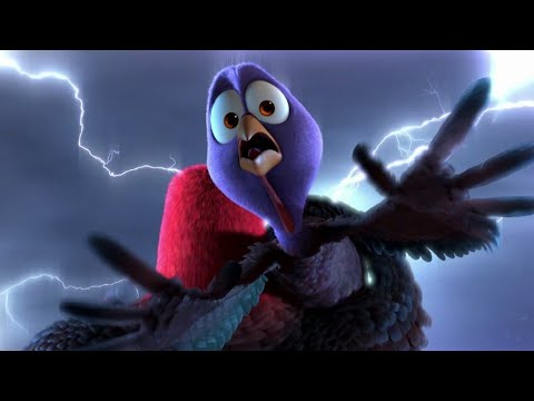 Download The Free Birds   Time Traveling Scene To First Thanks Giving   Funny Animated